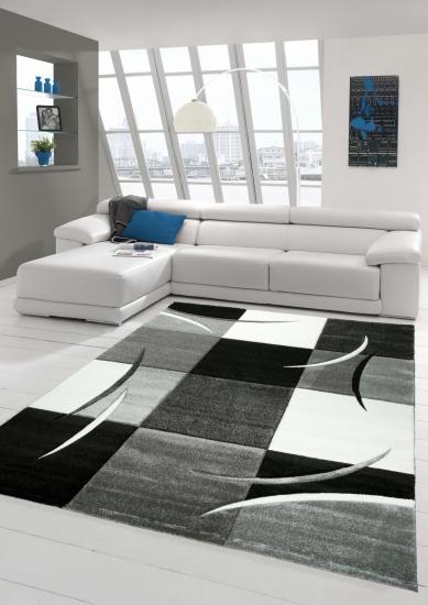 teppich-traum - moderne & designer-teppiche: hochwertig und ... - Wohnzimmer Teppich Schwarz Weis
