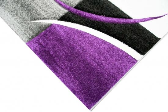 teppich-traum - moderne & designer-teppiche: hochwertig und ... - Wohnzimmer Grau Magenta