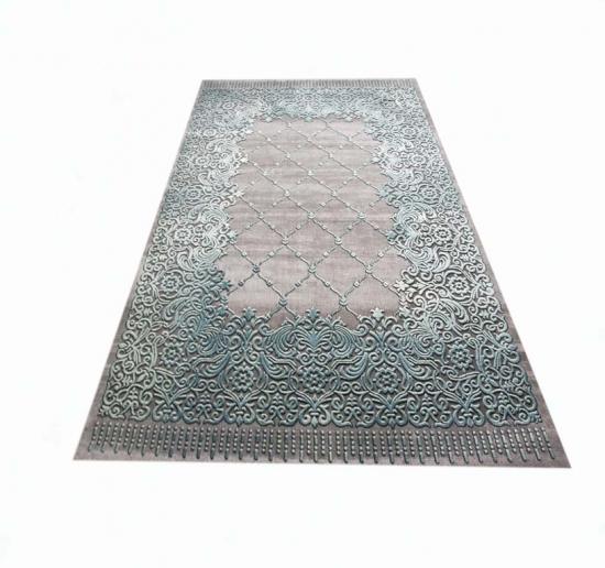 Kurzflor teppich  Teppich-Traum - Bordüre und Ornamente Fußbodenheizungsgeeignet 3 ...