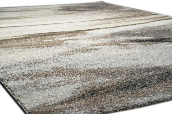 teppich traum designer teppich wohnzimmerteppich kurzflor teppich natur optik braun grau von. Black Bedroom Furniture Sets. Home Design Ideas