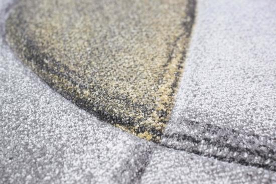 Designer Teppich Moderner Wollteppich Mit Muster Wohnzimmer In Rosa Creme Beige Turkis