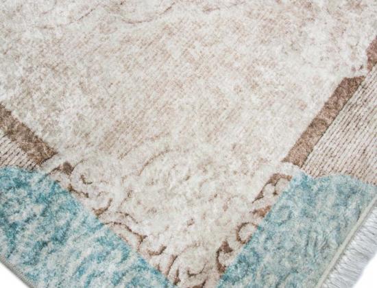 Teppich traum bordüre mit ornamente waschbar bei ° grad in der