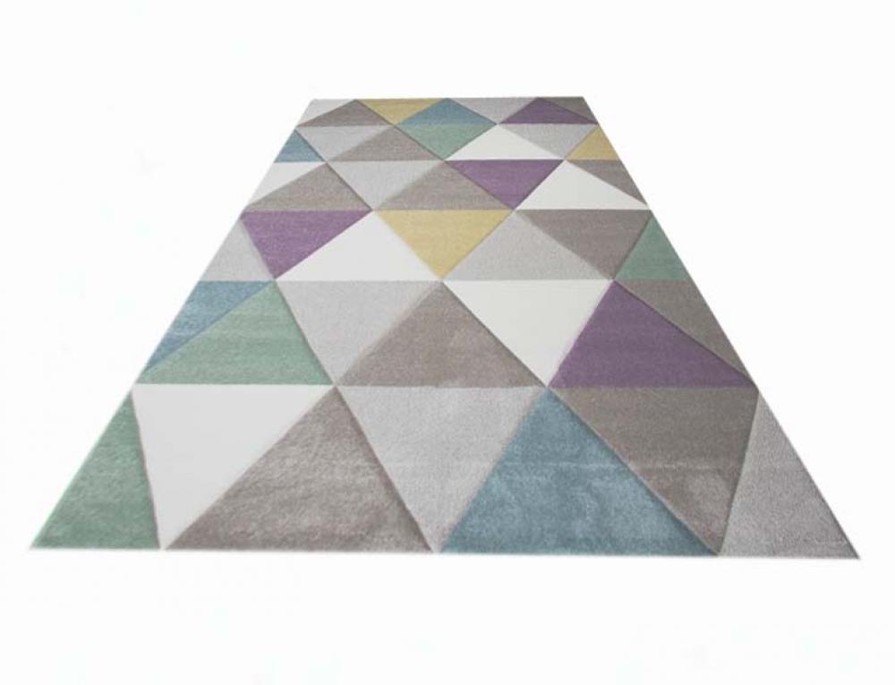 Teppich Traum Dreieck Muster Fußbodenheizungsgeeignet 3 Kgm²