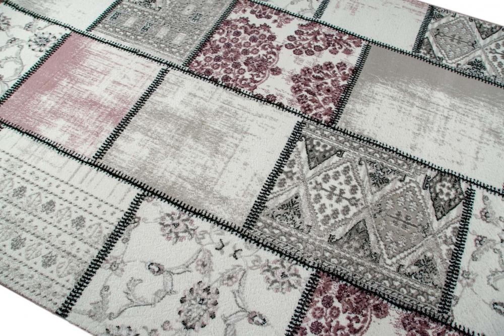 edler designer teppich moderner teppich wohnzimmer teppich patchwork vintage mel ebay. Black Bedroom Furniture Sets. Home Design Ideas