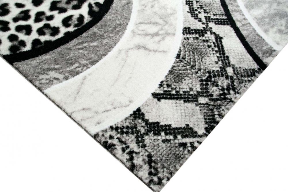 leoparden teppich best teppiche modern wohnzimmer teppich spezial melierung karo muster in blau. Black Bedroom Furniture Sets. Home Design Ideas