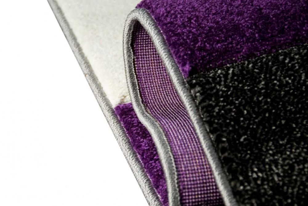 Teppich-traum - Moderne & Designer-teppiche: Hochwertig Und ... Wohnzimmer Grau Magenta