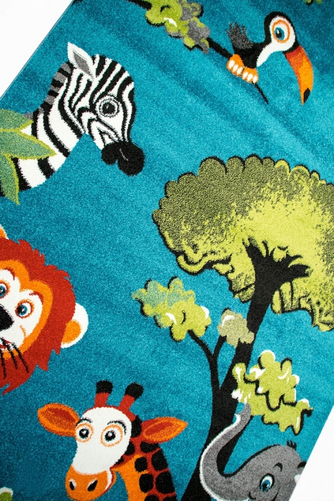 Teppich-Traum - Nursery carpet with zoo animals: Allergy-friendly ...
